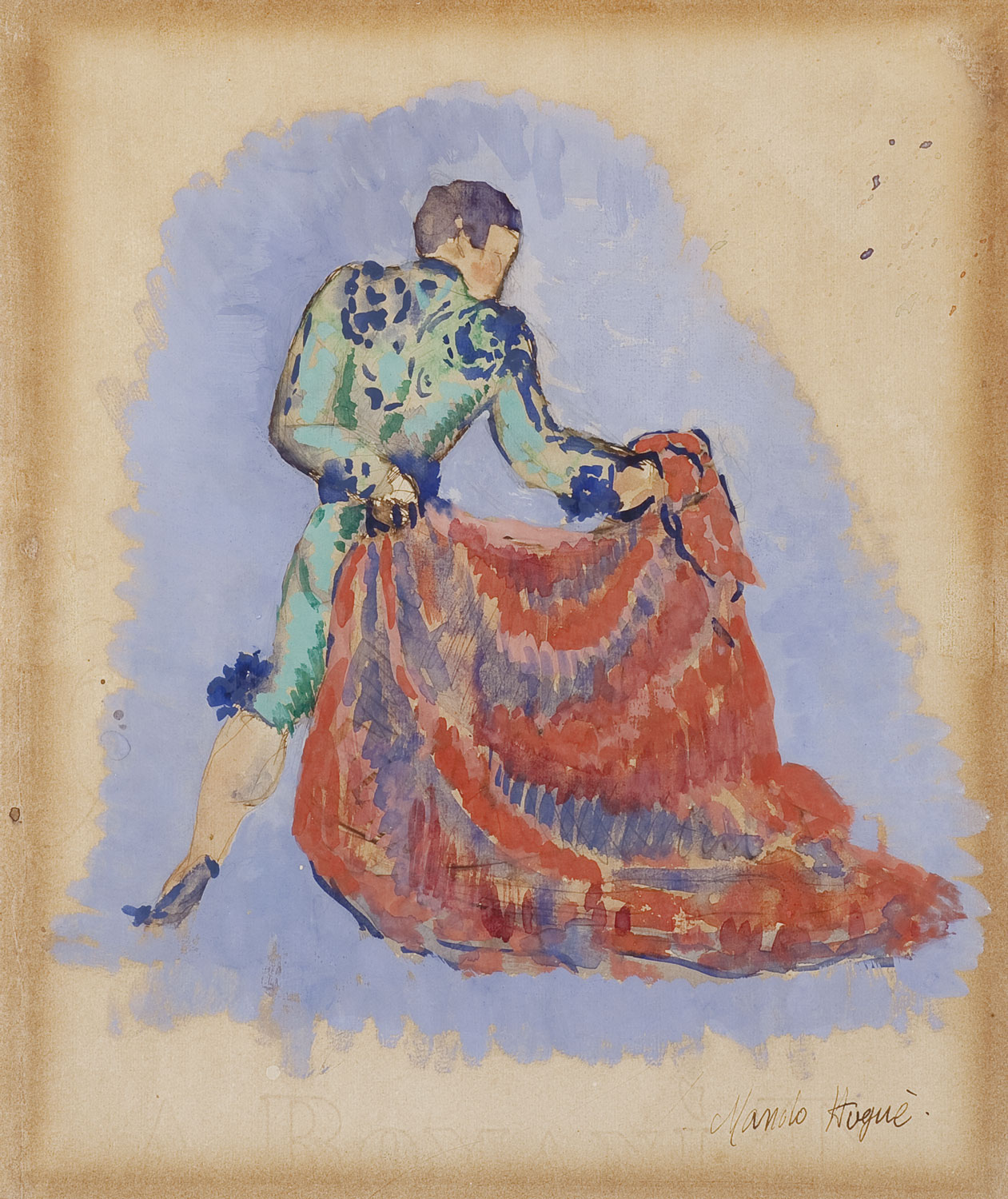 Bullfighter, Manolo Hugué
