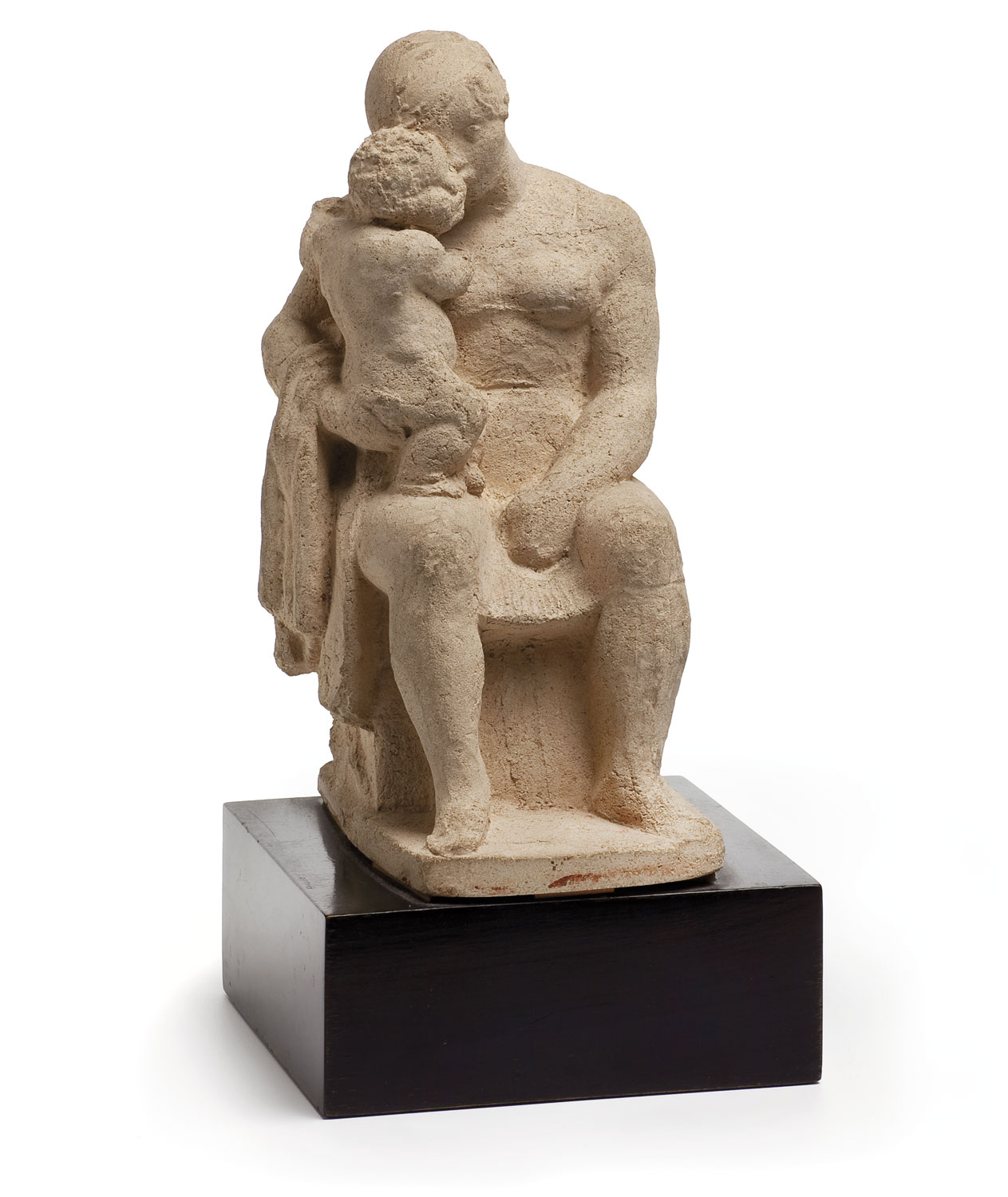 The maternity of the kiss, Manolo Hugué