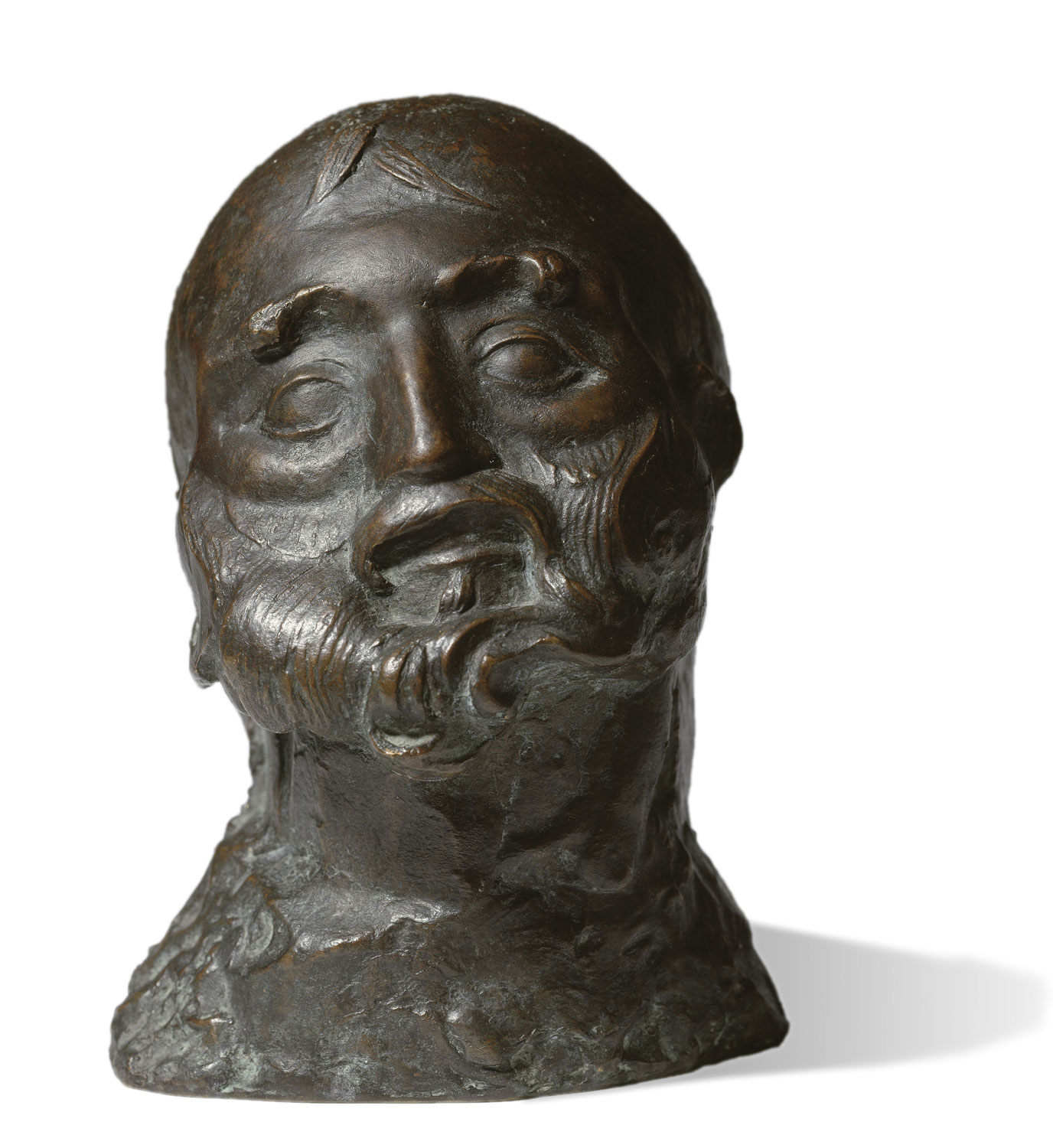 A man's head, Manolo Hugué