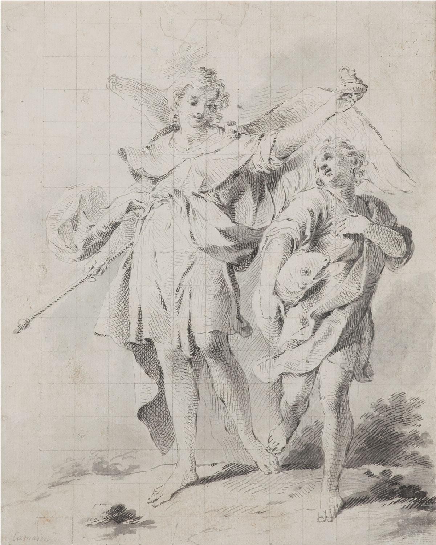 Tobies i l'arcàngel Sant Miquel, José Camarón