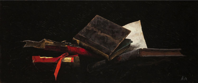 Nature morte aux livres, Pierre Skira