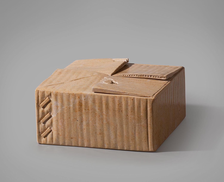 Caixa de cartó, Joan Mora