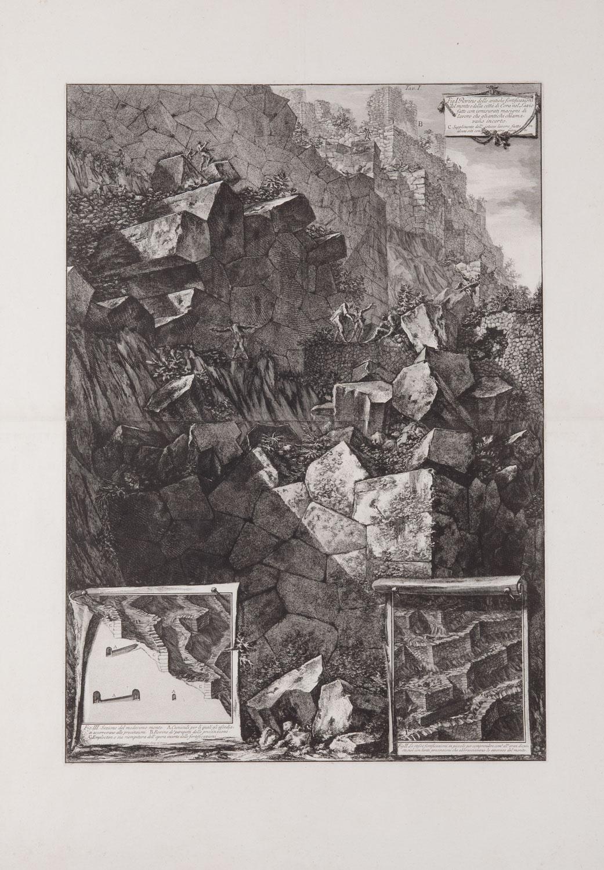 Rovine delle antiche fortificazioni, Giovanni Battista Piranesi