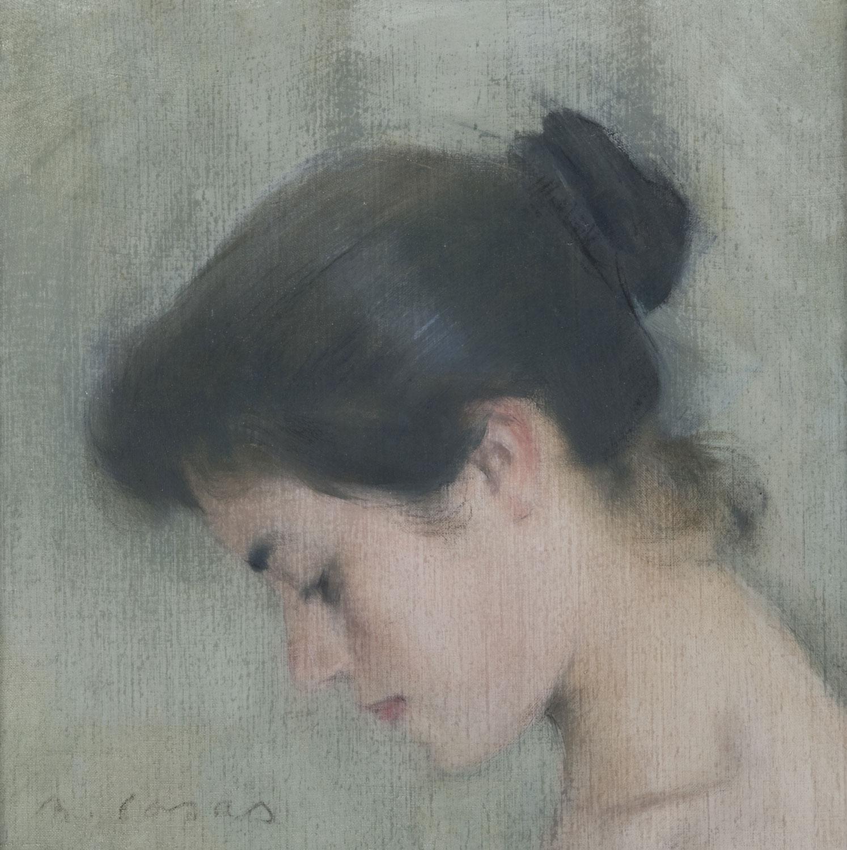 Cap de dona, Ramon Casas