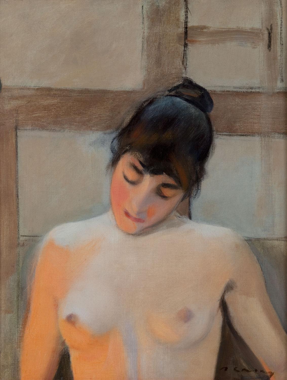 Bust de dona, Ramon Casas