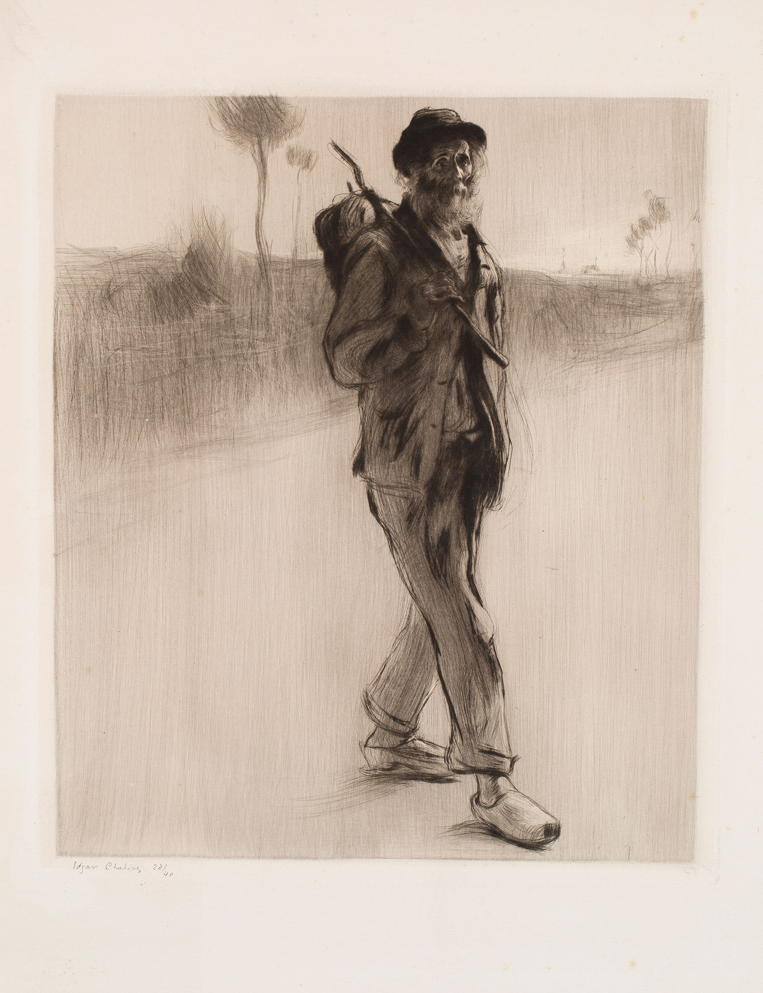 Un vagabundo, Edgard Chahine