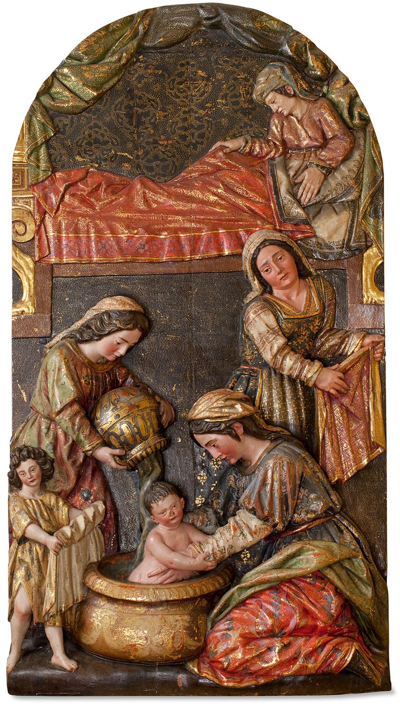 El Nacimiento de la Virgen, Felipe de Ribas
