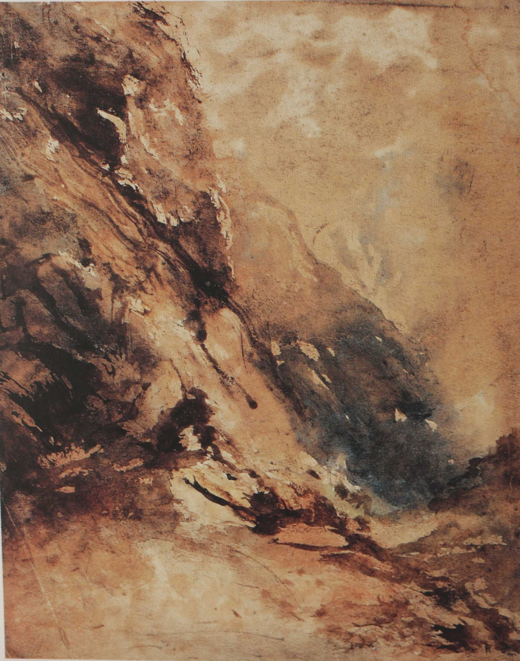 Paisaje, Eugenio Lucas Velázquez