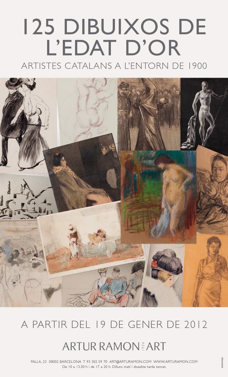 125 Dibuixos de l'Edat d'Or, juny - octubre 2012