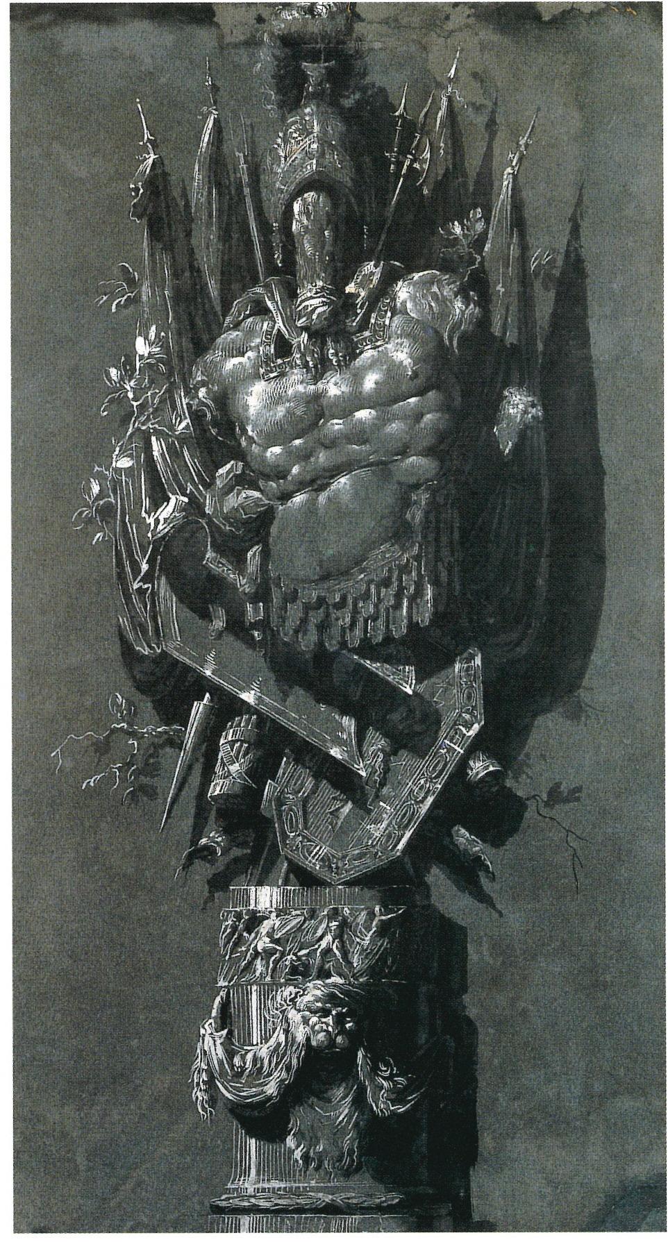 Trofeo militar romano  , Luis Paret y Alcázar