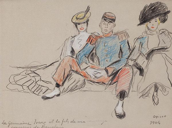 La Germaine, Ivone et le fils de ma concierge..., Ricard Opisso
