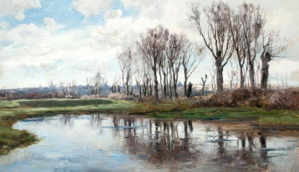 Paisatge fluvial, Jaume Morera