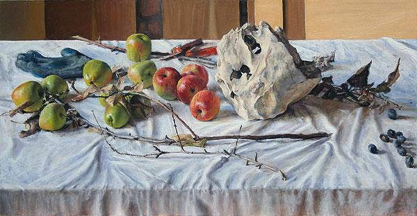 Apples I, Leticia Feduchi