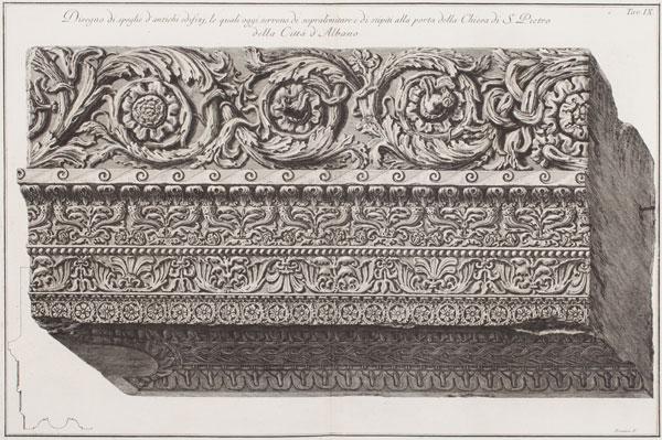 Disegno di spoglie d'antichi edifizi, Giovanni Battista Piranesi