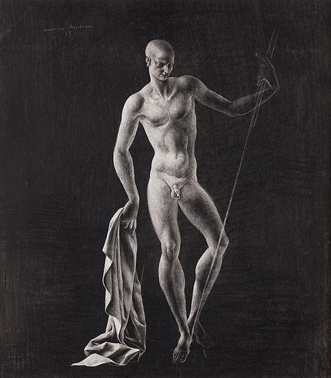 Figura masculina, Marià Andreu