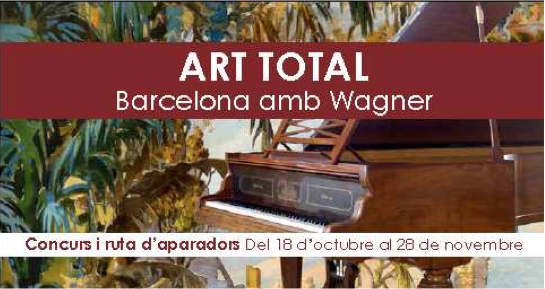 Art Total. Barcelona amb Wagner
