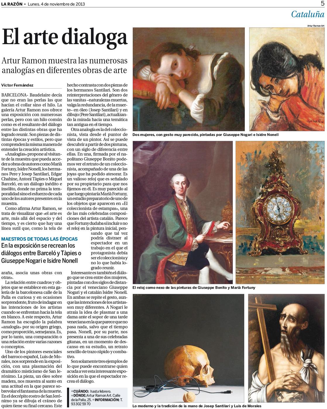 El arte dialoga (La Razón)