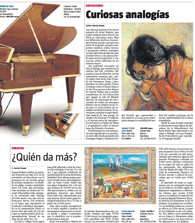 Curiosas analogías (La Vanguardia)