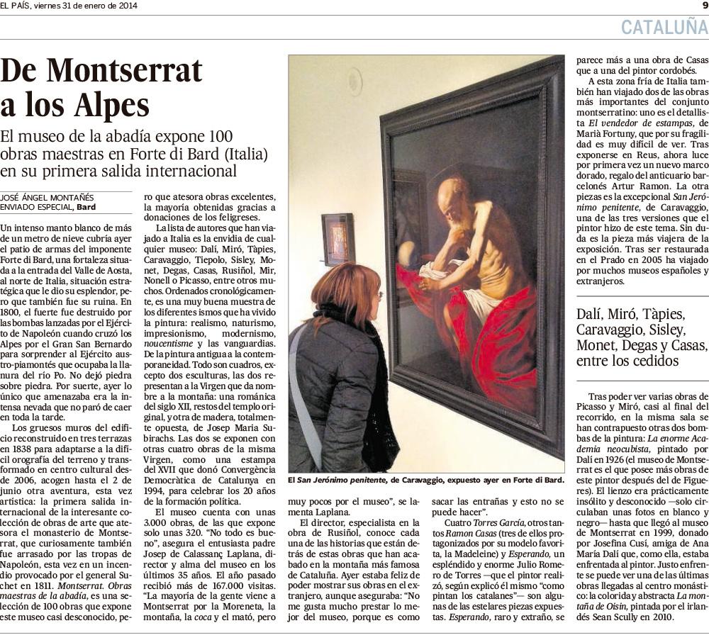 De Montserrat a los Alpes