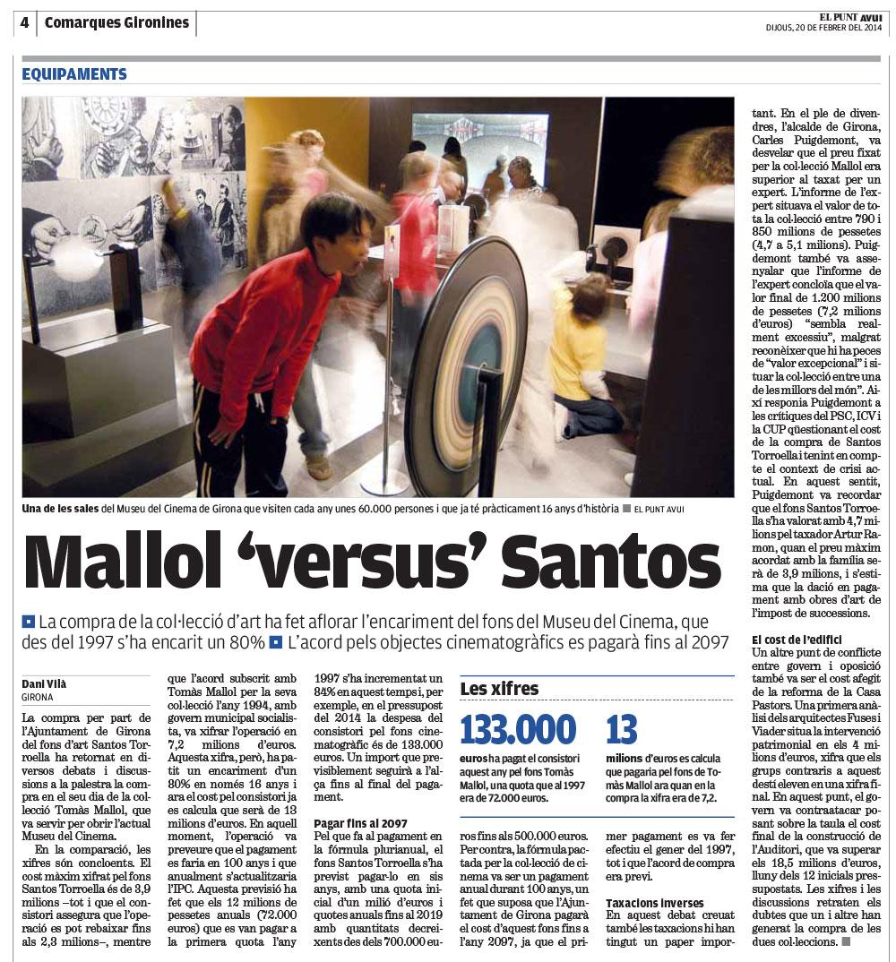 """Mallol """"versus"""" Santos"""