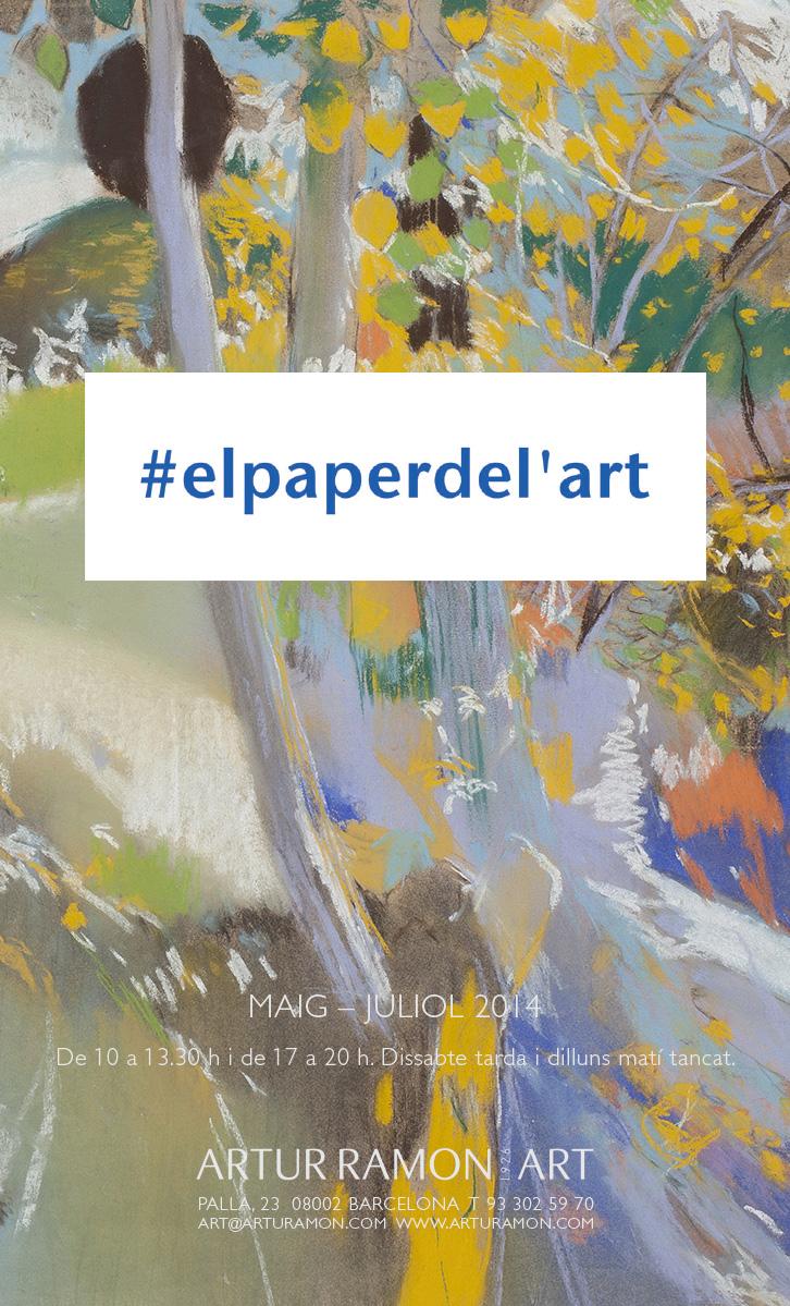 #elpaperdel'art, maig  juliol 2014