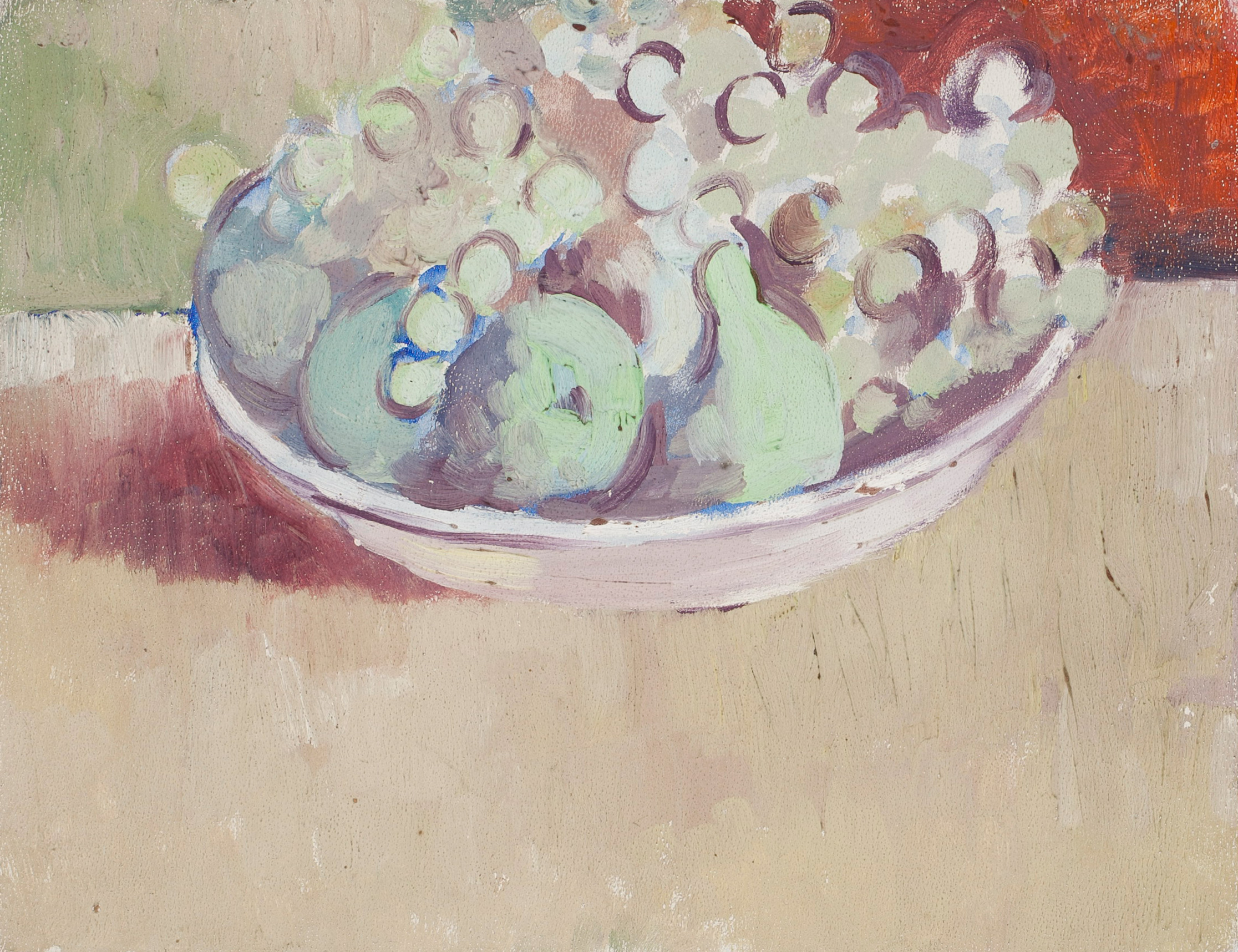 Fruits, Manolo Hugué