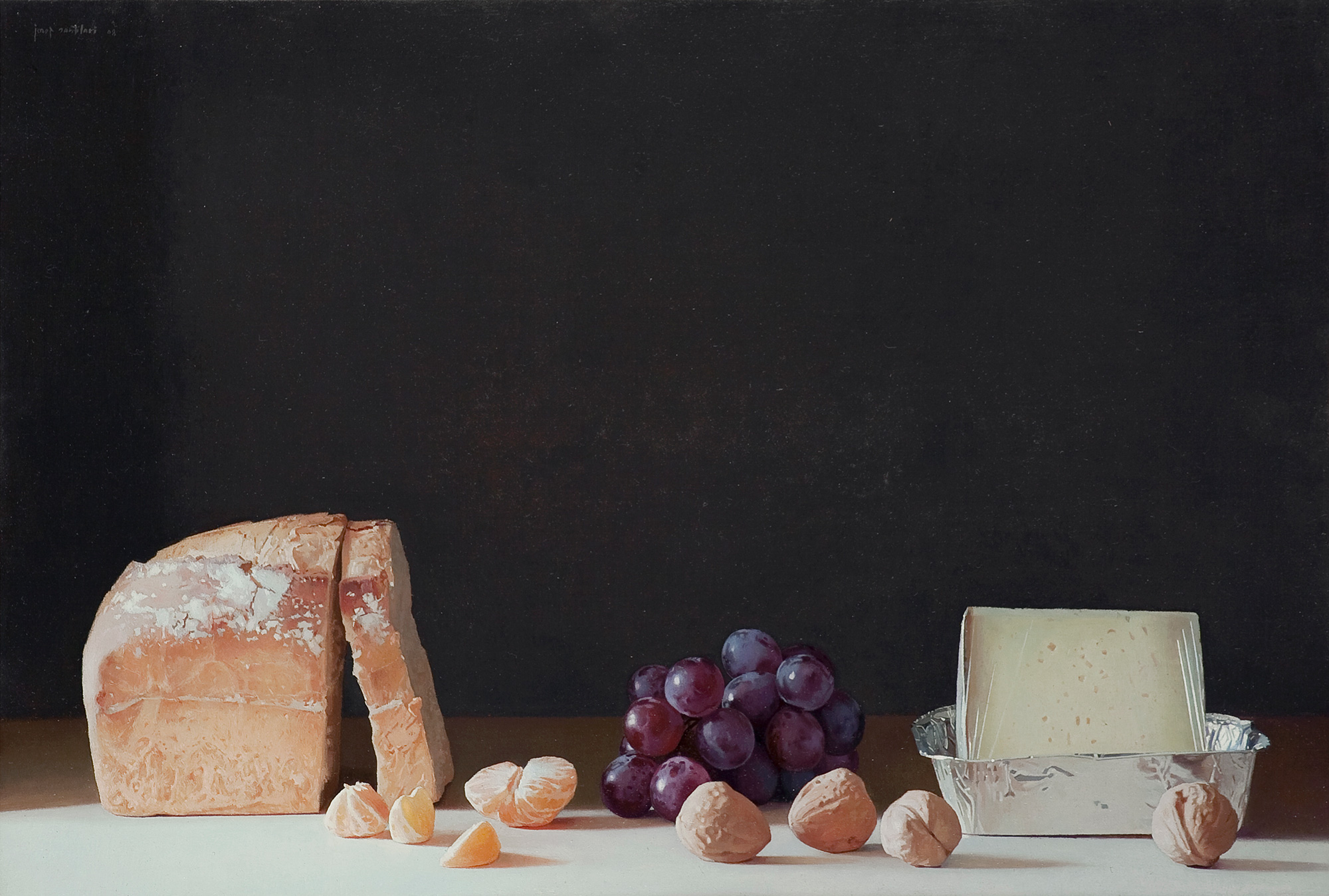 Bread, grapes and walnuts, Josep Santilari