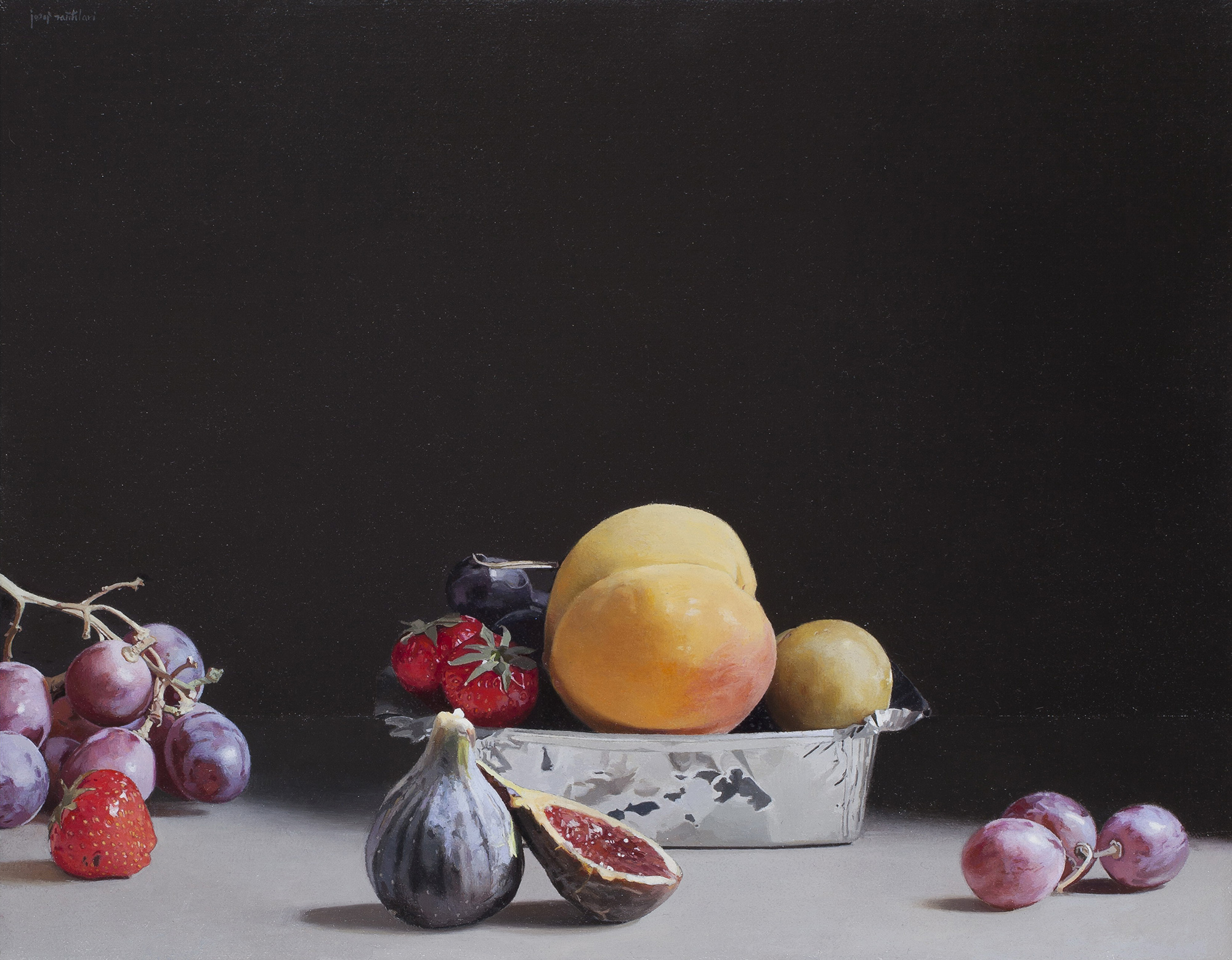 Peaches and other fruits, Josep Santilari