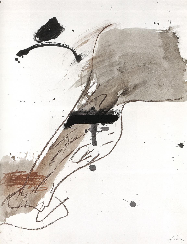 Extremitat, Antoni Tàpies