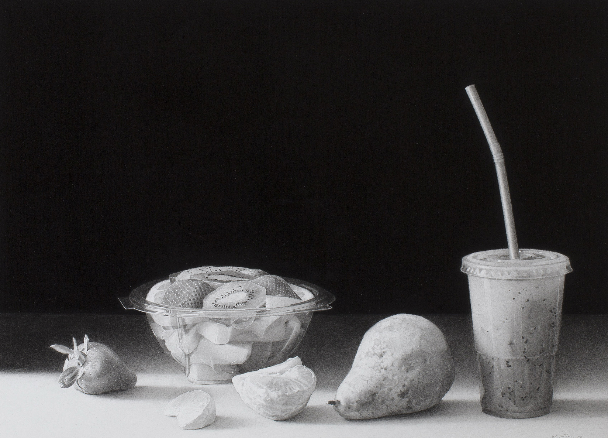Still life with kiwi juice, Josep Santilari