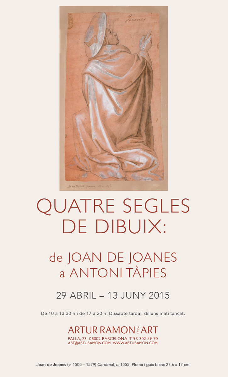 Four centuries of drawing, 29 April – 13 June 2015