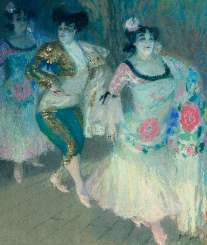 Flamenco Scene, Pau Roig