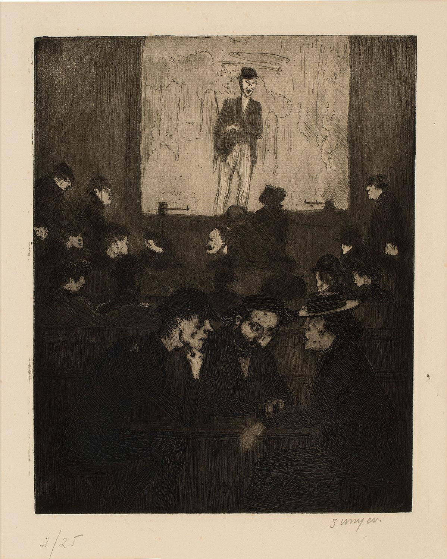 Concert des Fortifs, Joaquim Sunyer