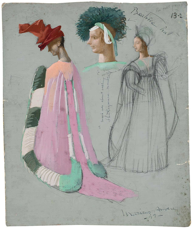 Disseny de vestuari: Beatrice, Marià Andreu
