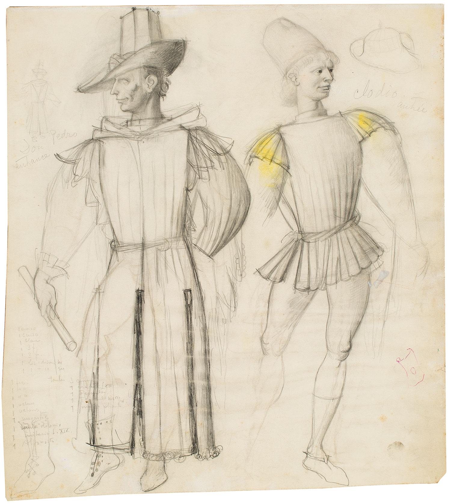 Disseny escenografia: vestuari, Marià Andreu