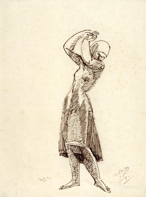 Paysanne les bras levés, Julio González
