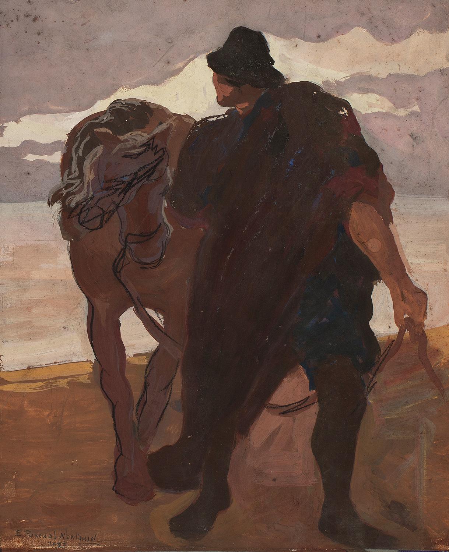 Home i cavall, Enric Pascual Monturiol