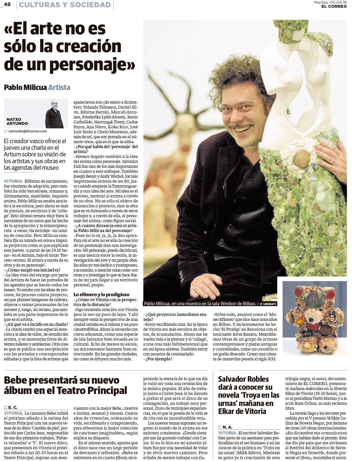Entrevista Pablo Milicua