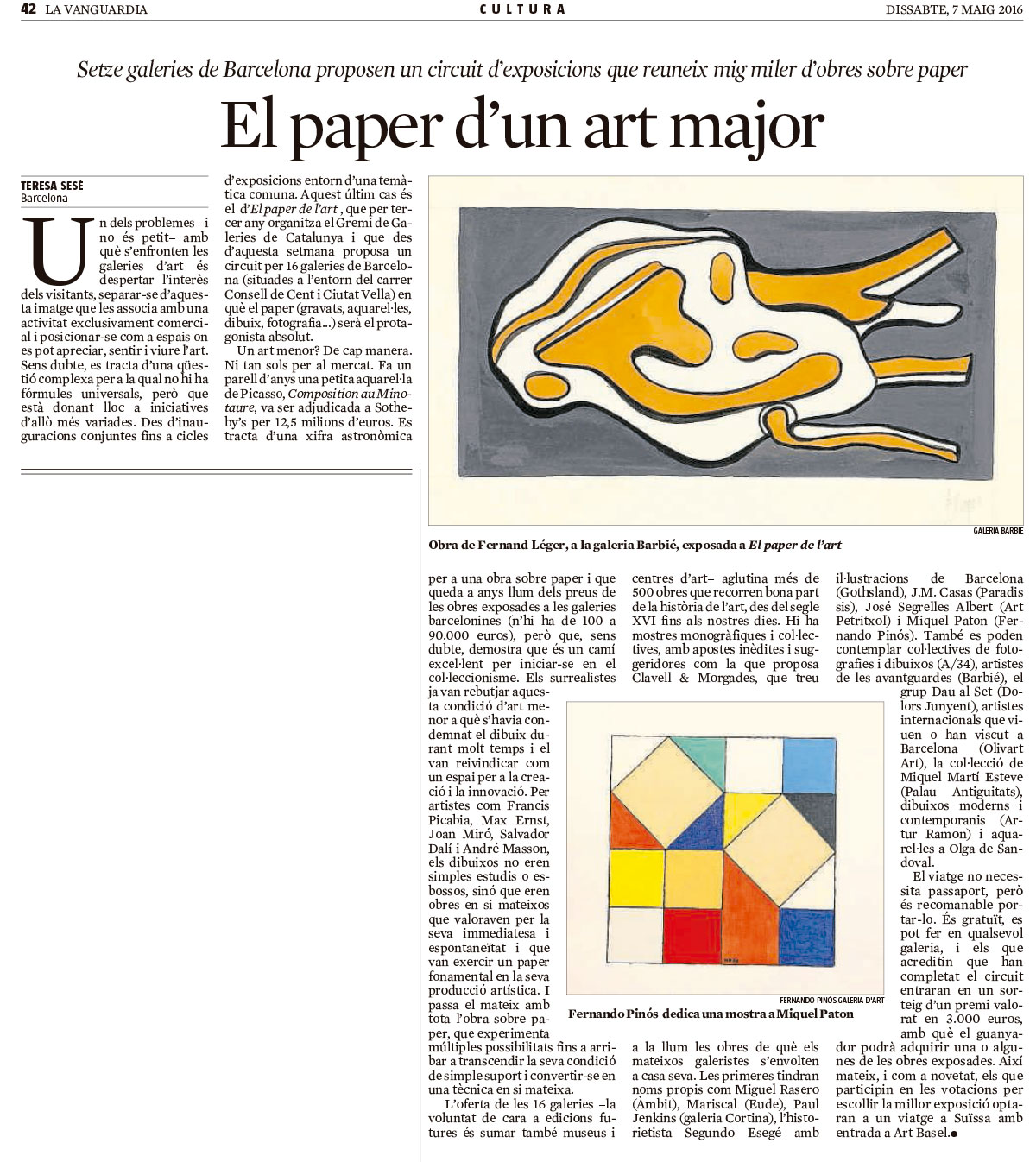 El paper d'un art major