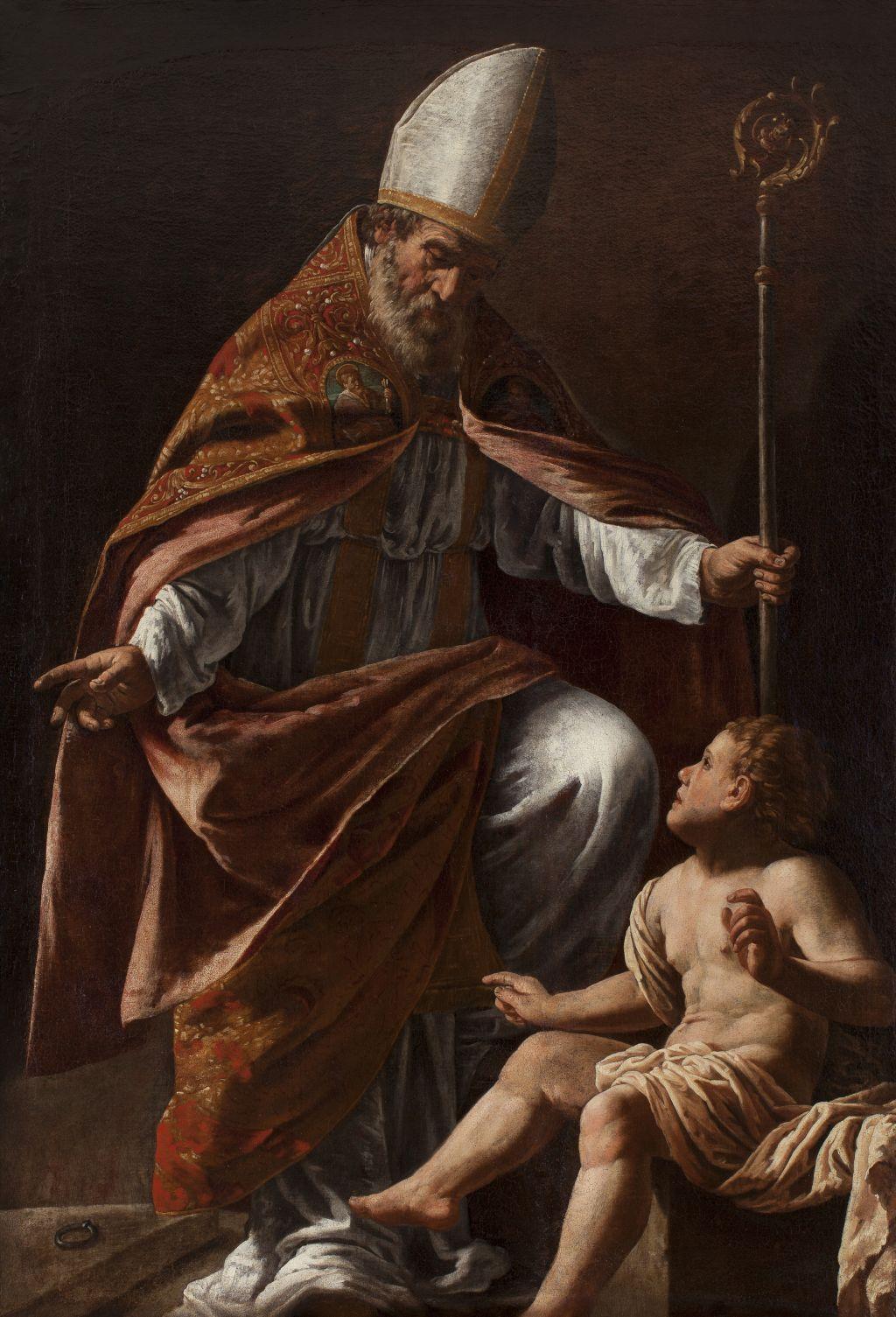 Sant Agustí, Marcantonio Bassetti