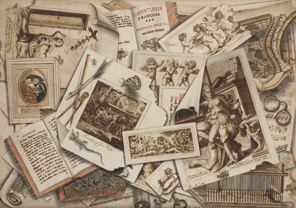 Giuseppe Crespi, Trompe‑l'oeil. L'Aventurier