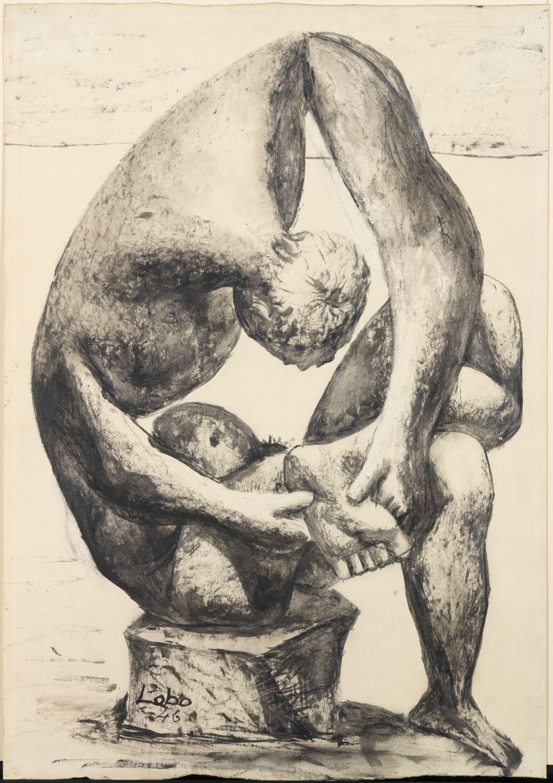Étude de sculpture, Baltasar Lobo