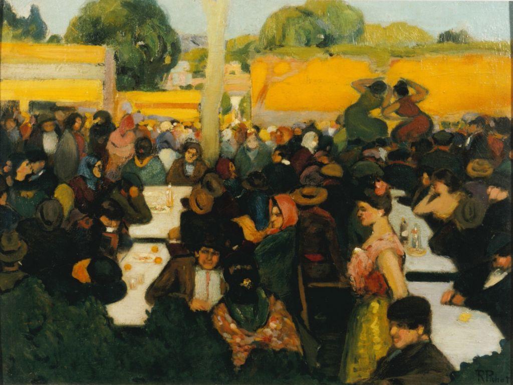 Ramon Pichot, Tablao flamenco