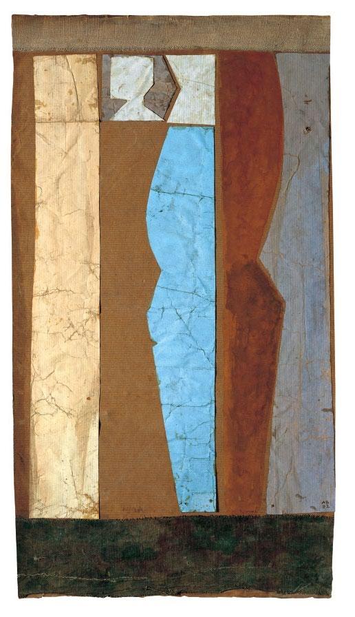 Composició en blau, Anke Blaue