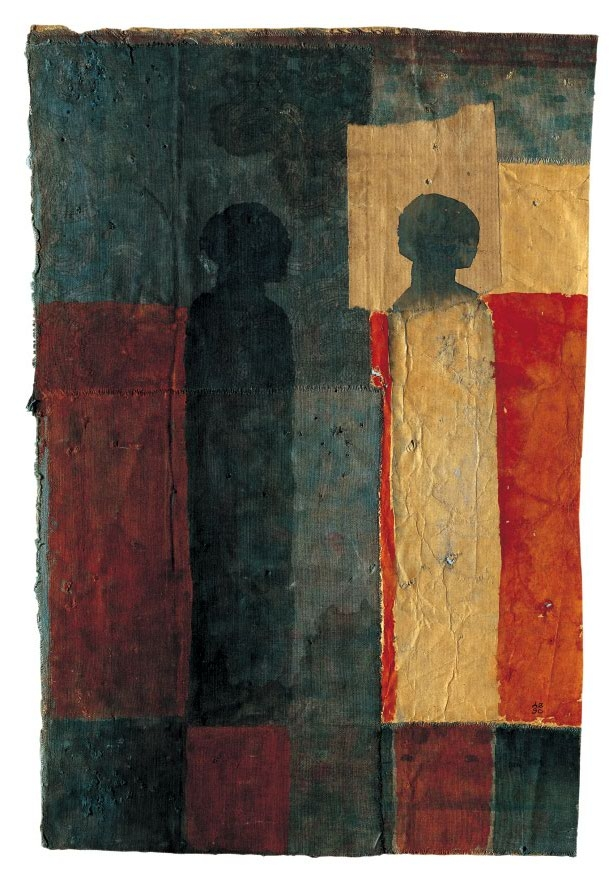 Dues figures, Anke Blaue