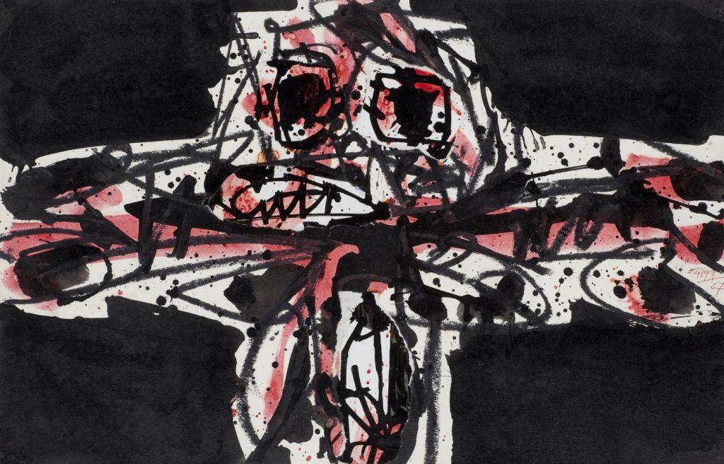 Crucifixió, Antonio Saura