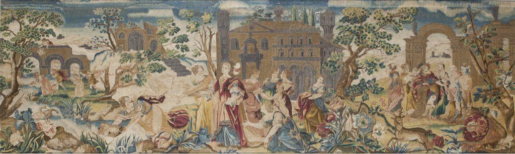 Història de la infància de Moisès, Flandes