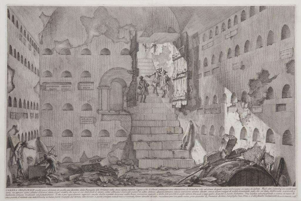Camera Sepolcrale, Giovanni Battista Piranesi