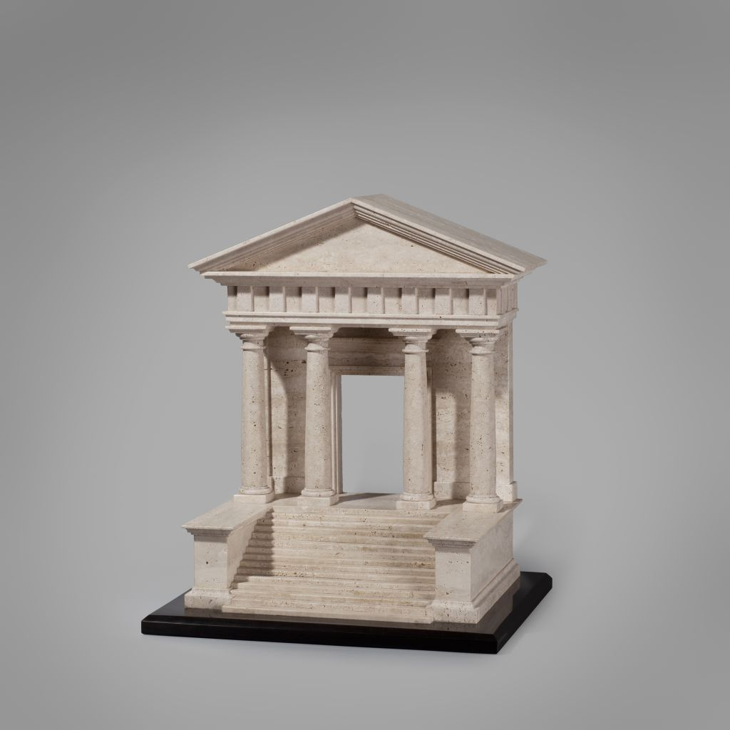 Temple clàssic, Joan Mora