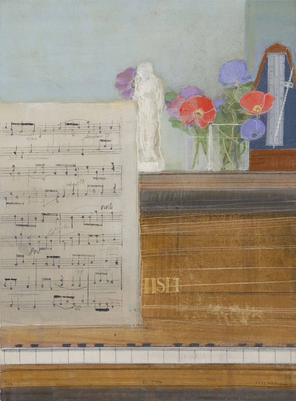 El piano, Luis Marsans